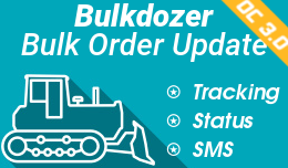 Bulk order status update: SMS/Email and Tracking (Opencart 3)