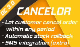 Cancel order by customer conditionally - OC 3
