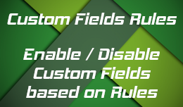 Custom Fields Rules extension for Opencart 3