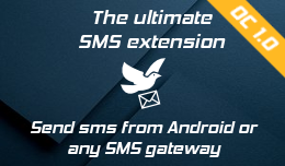 SMS Notification,Template & Contact–Android or any Gateway - OC1