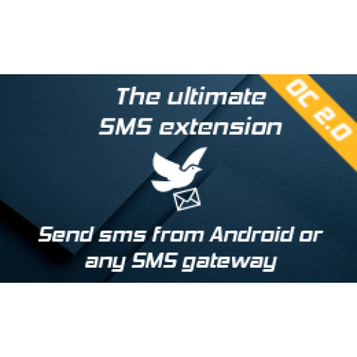 SMS Notification,Template & Contact–Android or any Gateway