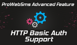 Basic HTTP Auth support - advanced feature