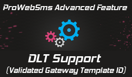 DLT support (template id) for opencart 2