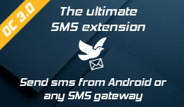 SMS Notification,Template & Contact–Android or any Gateway - OC 3