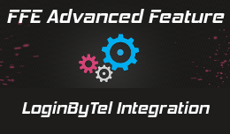 FFE integration with loginbytel for Opencart 3