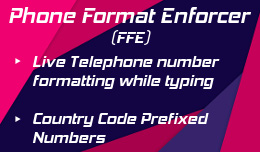Telephone Field Format Enforcer for OC3