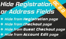 Hide Registration Fields