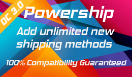 Powership: Add Unlimited New Shipping Methods to opencart 3