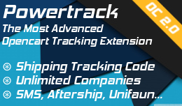 Powertrack: Add shipping tracking code for any company
