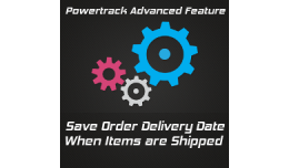 Powertrack delivery date advanced feature