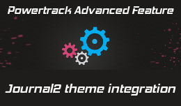 Powertrack integration with journal2