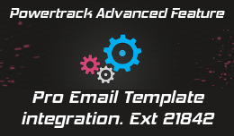 "Powertrack integration with ""Pro Email Template"""