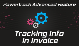 Tracking information in Invoice