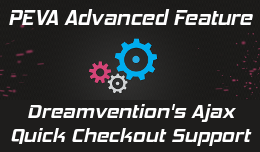 Dreamvention Ajax Quick Checkout support