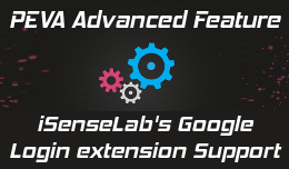 isenselab google login support
