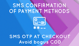 SMS Confirmation of Payment Methods - Anti fraud system - OC2