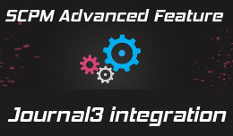 SCPM2 - Journal3 integration