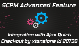 SCPM2 fusion Ajax Quick Checkout by xtensions