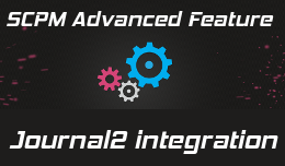 SCPM2 - Journal2 integration