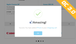 Add to cart beautiful popup - oc3